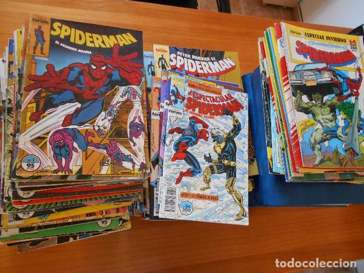 SPIDERMAN - VOLUMEN 1 - CASI COMPLETA - FALTAN 25 NºS DE 314 + 15 ESPECIALES - FORUM (IA-IB-IC) (Tebeos y Comics - Forum - Spiderman)