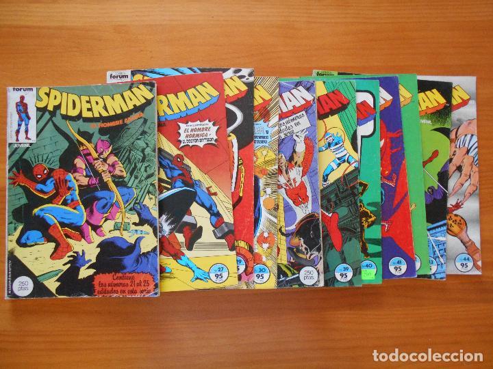 Cómics: SPIDERMAN - VOLUMEN 1 - CASI COMPLETA - FALTAN 25 Nºs DE 314 + 15 ESPECIALES - FORUM (IA-IB-IC) - Foto 3 - 126379911