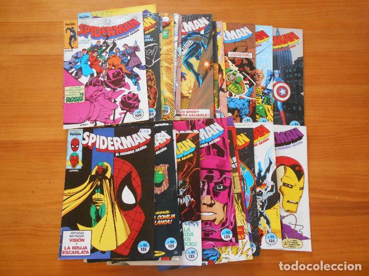 Cómics: SPIDERMAN - VOLUMEN 1 - CASI COMPLETA - FALTAN 25 Nºs DE 314 + 15 ESPECIALES - FORUM (IA-IB-IC) - Foto 5 - 126379911