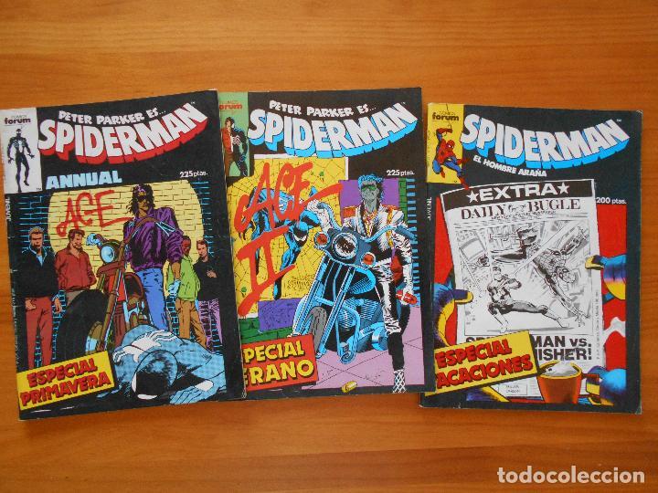 Cómics: SPIDERMAN - VOLUMEN 1 - CASI COMPLETA - FALTAN 25 Nºs DE 314 + 15 ESPECIALES - FORUM (IA-IB-IC) - Foto 23 - 126379911