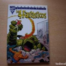 Cómics: EXCELSIOR - BIBLIOTECA MARVEL - LOS 4 FANTASTICOS - Nº 01 - FORMATO TACO - FORUM. Lote 126382423
