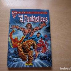 Cómics: EXCELSIOR - BIBLIOTECA MARVEL - LOS 4 FANTASTICOS - Nº 21 - FORMATO TACO - FORUM. Lote 126383063