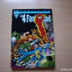 Cómics: EXCELSIOR - BIBLIOTECA MARVEL - LOS 4 FANTASTICOS - Nº 13 - FORMATO TACO - FORUM. Lote 126383543