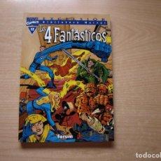 Cómics: EXCELSIOR - BIBLIOTECA MARVEL - LOS 4 FANTASTICOS - Nº 12 - FORMATO TACO - FORUM. Lote 126383575