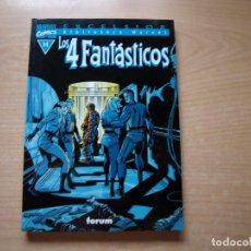 Cómics: EXCELSIOR - BIBLIOTECA MARVEL - LOS 4 FANTASTICOS - Nº 11 - FORMATO TACO - FORUM. Lote 126383619