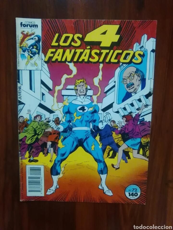 LOS 4 FANTÁSTICOS - 72 - VOLUMEN 1 - MARVEL COMICS - FORUM - 4F (Tebeos y Comics - Forum - 4 Fantásticos)