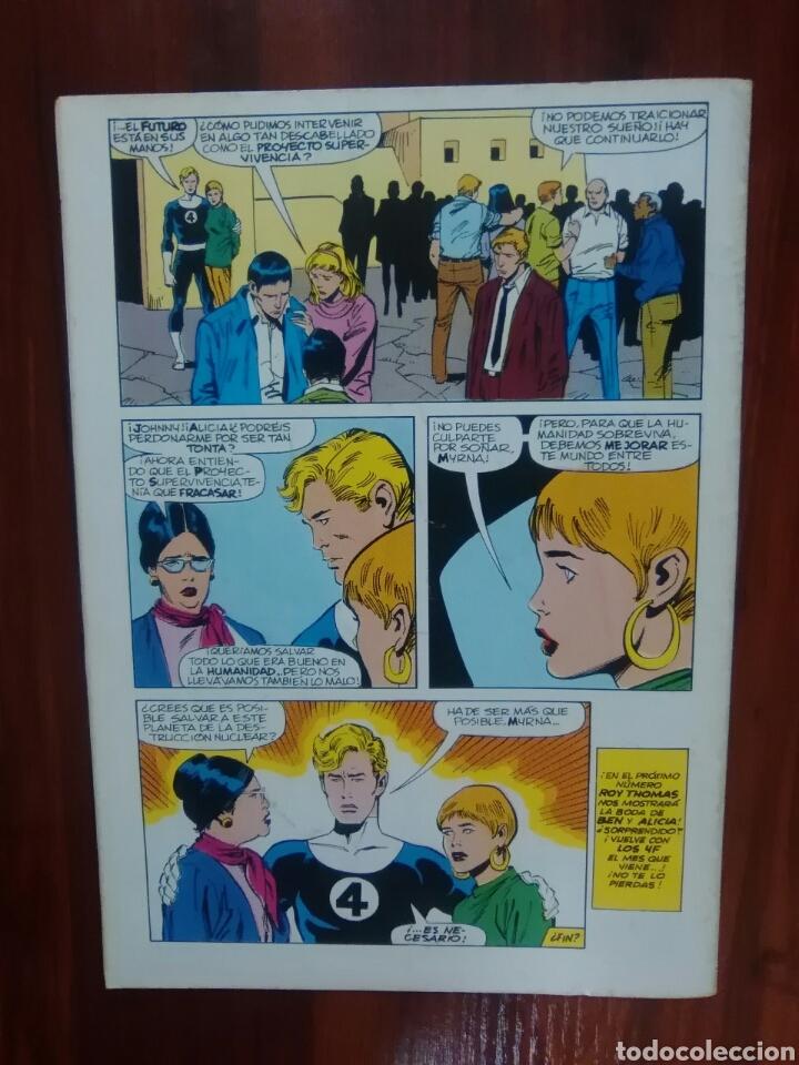 Cómics: LOS 4 FANTÁSTICOS - 72 - VOLUMEN 1 - MARVEL COMICS - FORUM - 4F - Foto 3 - 67466061