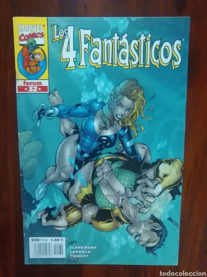 Cómics: LOS 4 FANTÁSTICOS - 32 - VOLUMEN 3 - MARVEL COMICS - FORUM - 4F - Foto 1 - 65747122