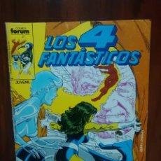 Cómics: LOS 4 FANTÁSTICOS - 66 - VOLUMEN 1 - MARVEL COMICS - FORUM - 4F. Lote 67464177