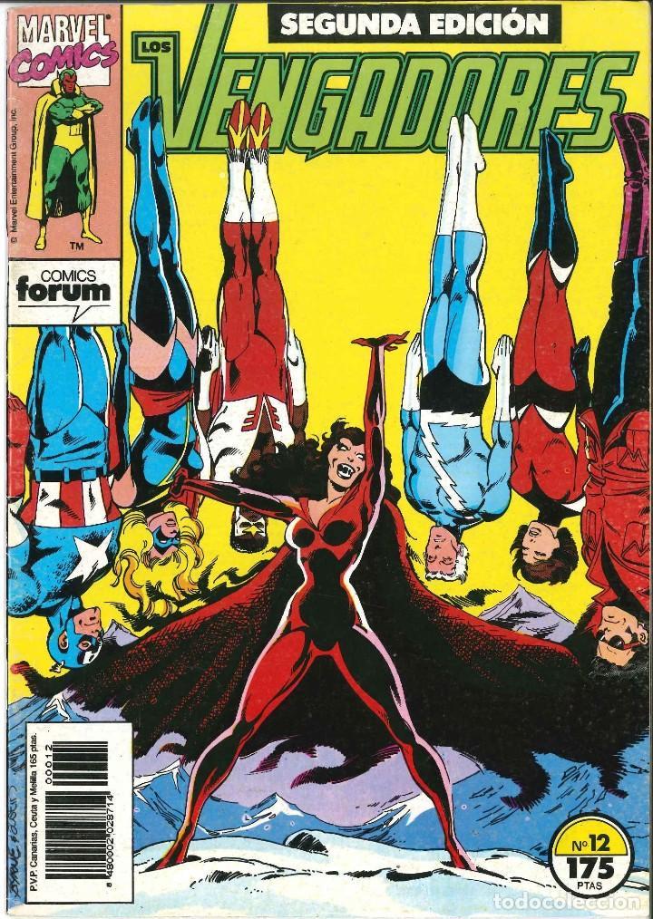 LOS VENGADORES SEGUNDA EDICIÓN NUMERO 12 CÓMICS FÓRUM MARVEL (Tebeos y Comics - Forum - Vengadores)
