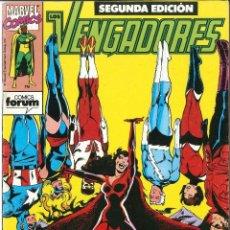 Cómics: LOS VENGADORES SEGUNDA EDICIÓN NUMERO 12 CÓMICS FÓRUM MARVEL. Lote 126527555