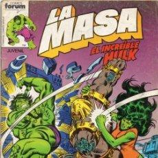 Cómics: LA MASA VOL.1 Nº 19 - FORUM. HULK.. Lote 126581447