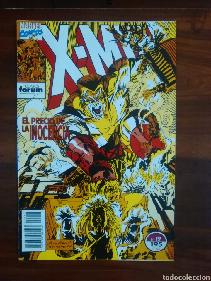 X-MEN - VOL 1 - NÚMERO 19 - MARVEL COMICS - FORUM (Tebeos y Comics - Forum - X-Men)