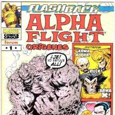 Cómics: ALPHA FLIGHT: ORÍGENES Nº 1. FLASHBACK. Lote 126767599