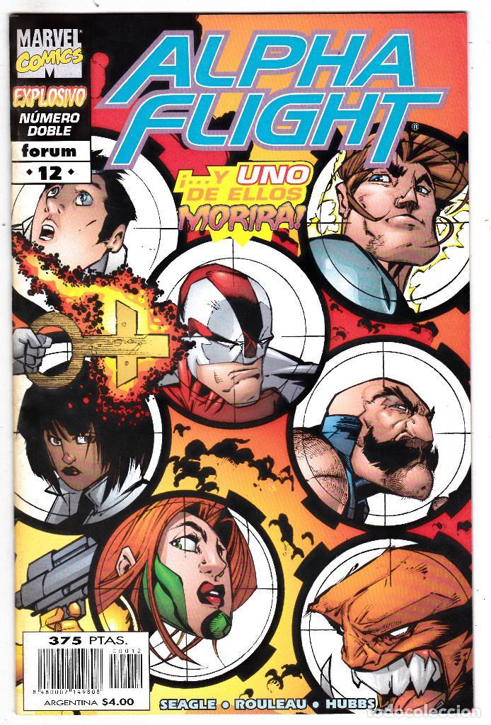 ALPHA FLIGHT VOL.2 - PLANETA 1998 - #12 DE 20 (Tebeos y Comics - Forum - Alpha Flight)