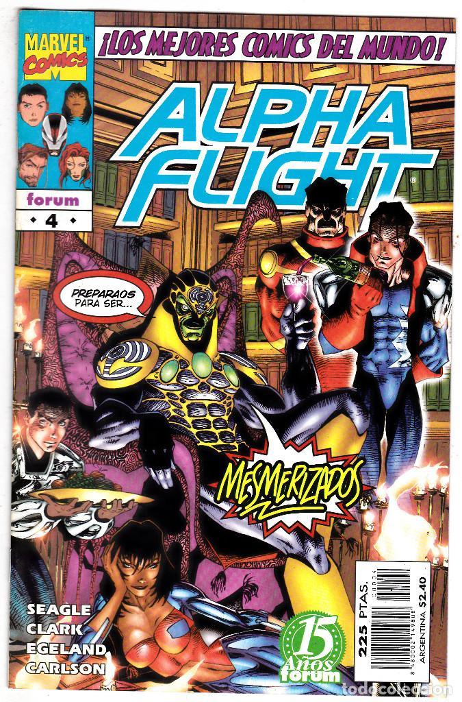 ALPHA FLIGHT VOL.2 - PLANETA 1996 - #4 DE 20 (Tebeos y Comics - Forum - Alpha Flight)