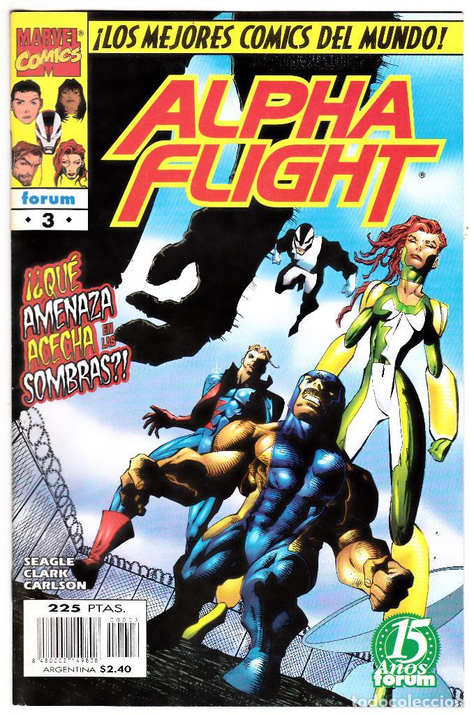 ALPHA FLIGHT VOL.2 - PLANETA 1996 - #3 DE 20 (Tebeos y Comics - Forum - Alpha Flight)