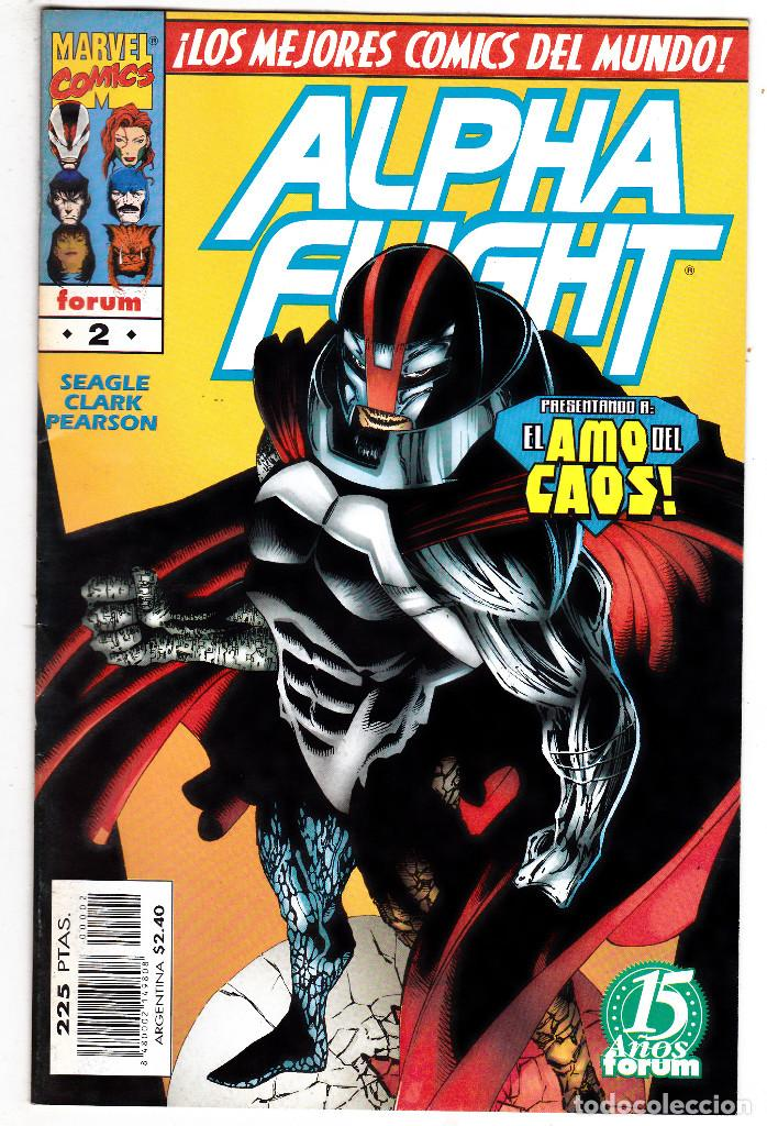 ALPHA FLIGHT VOL.2 - PLANETA 1996 - #2 DE 20 (Tebeos y Comics - Forum - Alpha Flight)