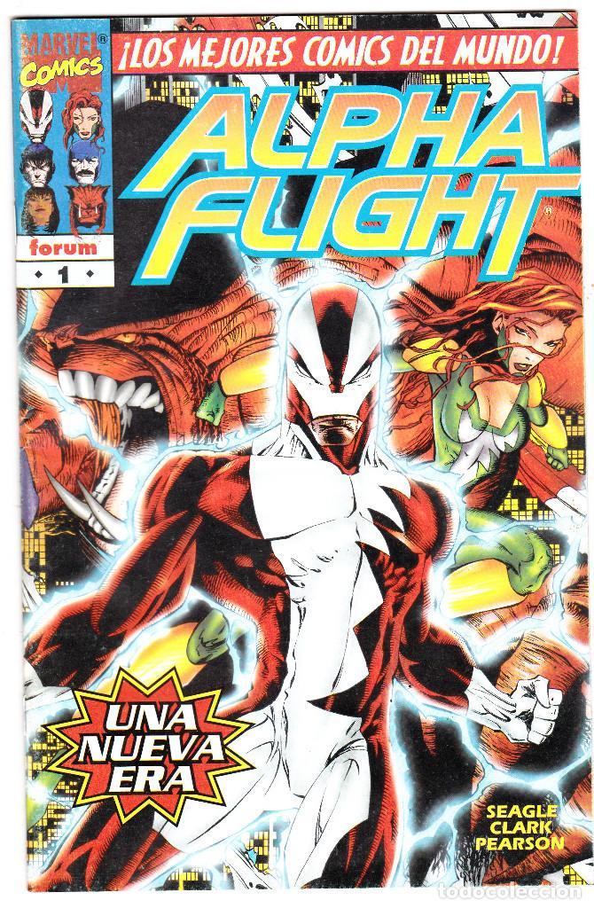 ALPHA FLIGHT VOL.2 - PLANETA 1996 - #1 DE 20 (Tebeos y Comics - Forum - Alpha Flight)