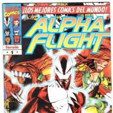 Cómics: ALPHA FLIGHT VOL.2 - PLANETA 1996 - #1 DE 20. Lote 126769699