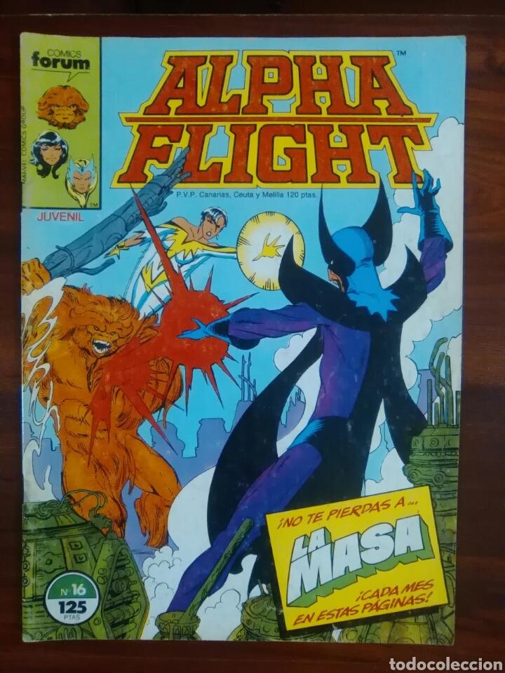 ALPHA FLIGHT - VOL 1 - NÚMERO 16 - MARVEL CÓMICS - FORUM (Tebeos y Comics - Forum - Alpha Flight)