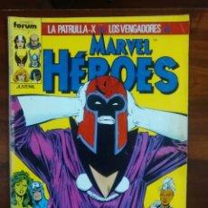 Cómics: MARVEL HÉROES - NÚMERO 8 - VOL 1 - PATRULLA X - VENGADORES - MARVEL - FORUM. Lote 69993765
