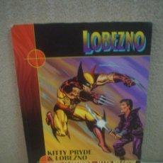 Cómics: LOBEZNO - KITTY PRYDE Y LOBEZNO - CHRIS CLAREMONT / ALLEN MILGROM. Lote 126941851
