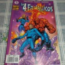Cómics: LOS 4 FANTASTICOS PACHECO - MARIN MERINO VOL.4 NUMERO 5 IMPECABLE. Lote 126999359