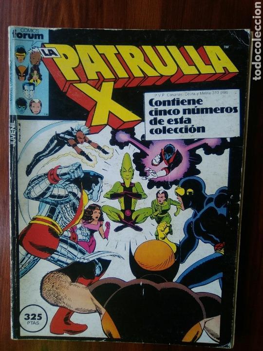 LA PATRULLA X - MARVEL COMICS - COMICS FORUM - RETAPADO - 5 NUMEROS - DIFICIL (Tebeos y Comics - Forum - Retapados)