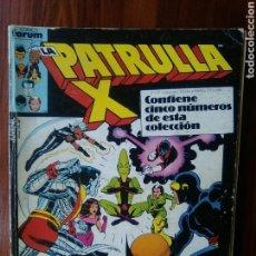 Cómics: LA PATRULLA X - MARVEL COMICS - COMICS FORUM - RETAPADO - 5 NUMEROS - DIFICIL. Lote 44892512