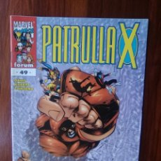 Cómics: LA PATRULLA X - SERIE REGULAR - VOL 2 - NÚMERO 49 - MARVEL COMICS - FORUM. Lote 67789905