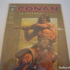 Comics: CONAN LA LEYENDA Nº 0 Y 1. Lote 127141007