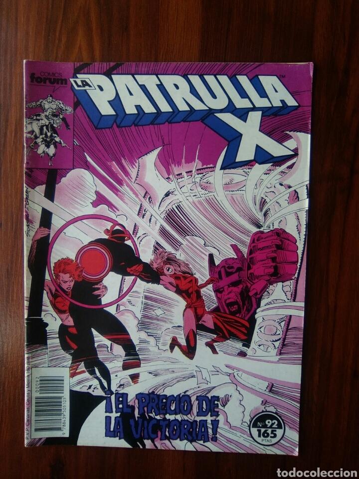 LA PATRULLA X - VOLUMEN 1 - SERIE REGULAR - 92 - MARVEL COMICS - FORUM (Tebeos y Comics - Forum - Patrulla X)