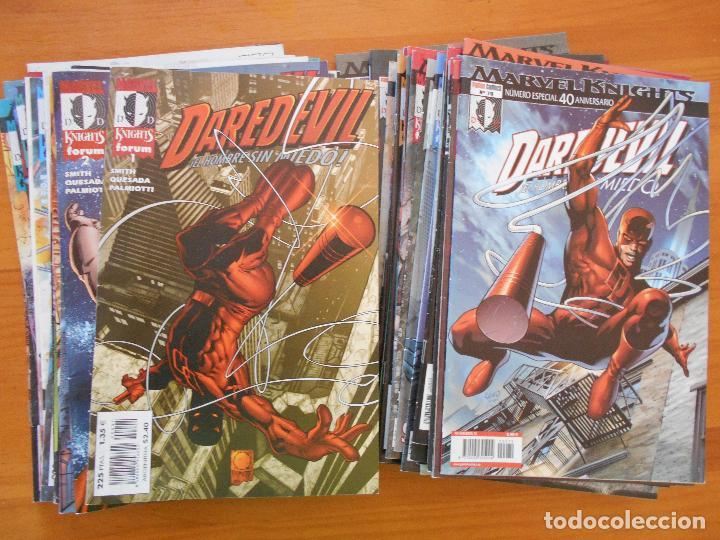 DAREDEVIL MARVEL KNIGHTS VOLUMEN 1 - CASI COMPLETA - 70 NUMEROS A FALTA DE 1 (NUMERO 12) FORUM (BV) (Tebeos y Comics - Forum - Daredevil)