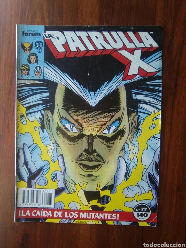 LA PATRULLA X - VOLUMEN 1 - SERIE REGULAR - 77 - MARVEL COMICS - FORUM (Tebeos y Comics - Forum - Patrulla X)