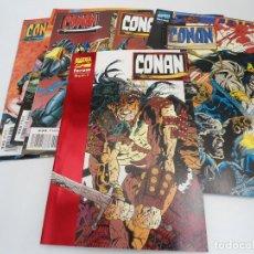 Comics : CONAN EL AVENTURERO - BARRY CRAIN ALCATENA - 11 NUMEROS OBRA COMPLETA - FORUM 1996 -EXCELENTE ESTADO. Lote 127242079