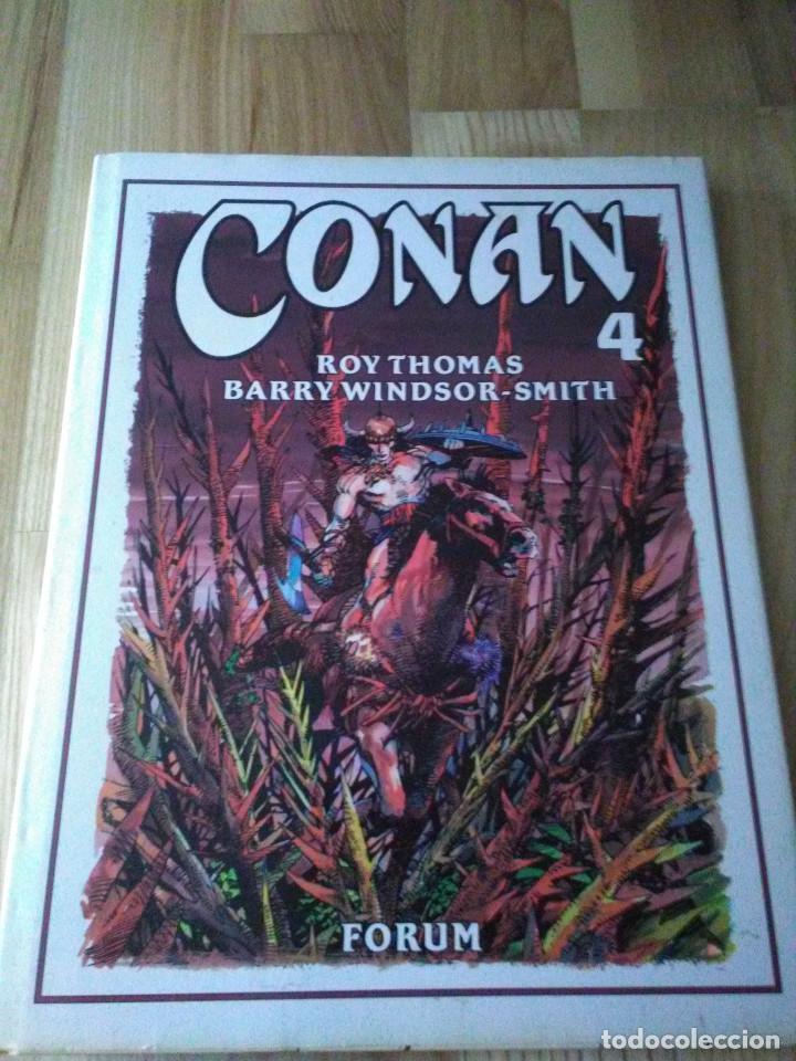 TOMO COMIC CONAN EL BARBARO DE BARRY WINDSOR SMITH ROY THOMAS Nº 4 (Tebeos y Comics - Forum - Conan)