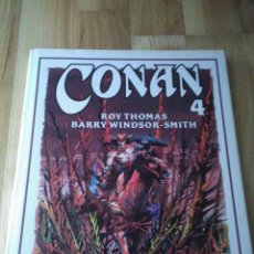 Cómics: TOMO COMIC CONAN EL BARBARO DE BARRY WINDSOR SMITH ROY THOMAS Nº 4. Lote 127248667