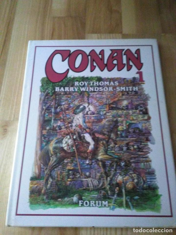 TOMO COMIC CONAN EL BARBARO DE BARRY WINDSOR SMITH ROY THOMAS Nº 2 (Tebeos y Comics - Forum - Conan)