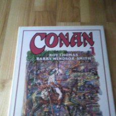 Cómics: TOMO COMIC CONAN EL BARBARO DE BARRY WINDSOR SMITH ROY THOMAS Nº 2. Lote 127248731