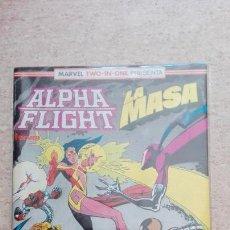 Cómics: ALPHA FLIGHT / LA MASA NÚM. 59. Lote 127496287