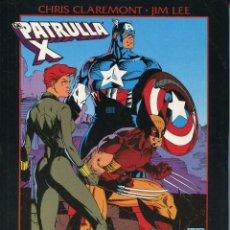 Cómics: LA PATRULLA X. CRUCE DE CAMINOS POR CHRIS CLAREMONT Y JIM LEE. Lote 148173362
