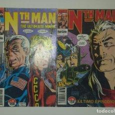 Cómics: MARVEL COMICS - NTH MAN THE ULTIMATE NINJA Nº 9 Y 16 (FORUM AÑOS 90) LARRY HAMA. Lote 127568939