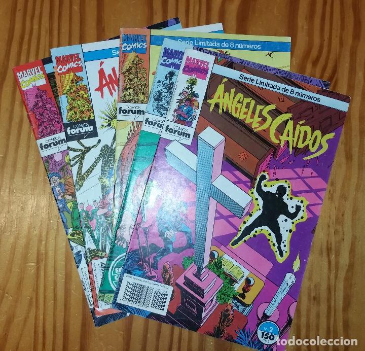 MARVEL COMICS - LOTE ÁNGELES CAIDOS (X-MEN NUEVOS MUTANTES PATRULLA X) FORUM AÑOS 90 (Tebeos y Comics - Forum - Nuevos Mutantes)