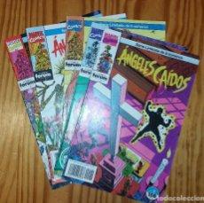 Cómics: MARVEL COMICS - LOTE ÁNGELES CAIDOS (X-MEN NUEVOS MUTANTES PATRULLA X) FORUM AÑOS 90. Lote 127569199