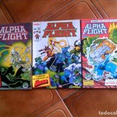 Cómics: LOTE DE COMICS ALPHA FLIGHT N,34,33,56. Lote 127577527