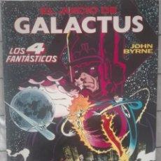 Cómics: OBRAS MAESTRAS 4.EL JUICIO DE GALACTUS.JOHN BYRNE.176 PAGINAS. Lote 127641383