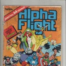 Cómics: ALPHA FLIGHT-ESPECIAL 64 PGA.-FORUM-AÑO 1988-COLOR-FORMATO GRAPA-Nº 37-LA INVASION DE ATLANTIS. Lote 127731095