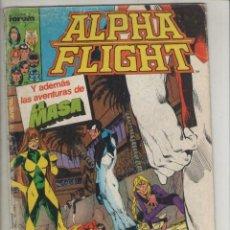 Cómics: ALPHA FLIGHT-AÑO 1986-FORUM-COLOR-FORMATO GRAPA-Nº 25-Y SI NO TRIUNFAS A LA PRIMERA. Lote 127731915