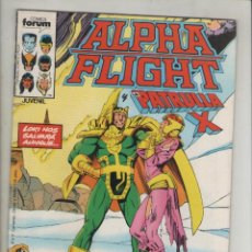 Cómics: ALPHA FLIGHT-AÑO 1986-FORUM-COLOR-FORMATO GRAPA-Nº 24-EL REGALO. Lote 127732019